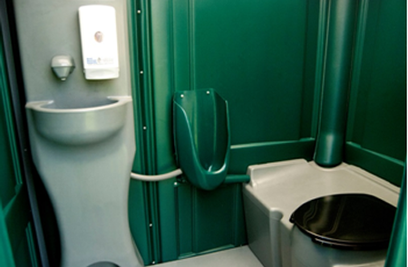 portable toilets with sinks